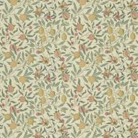 Fruit Fabric - Cream/Teal