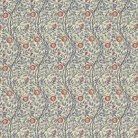 Sweet Briar Fabric - Indigo/Red