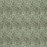 Willow Boughs Fabric - Taupe/Green