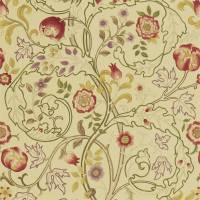 Mary Isobel Fabric - Red/Gold