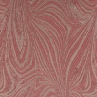 Waves Fabric - Coral