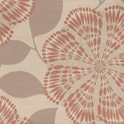 H & S Wilman Enchanted Fabrics Bloomsbury Fabric - Coral - FG523