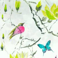Madame Butterfly ll Fabric - Acacia