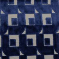 Pugin Fabric - Indigo