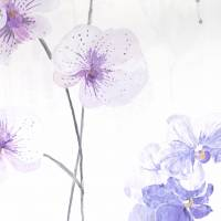 Orchidea Fabric - Lavender