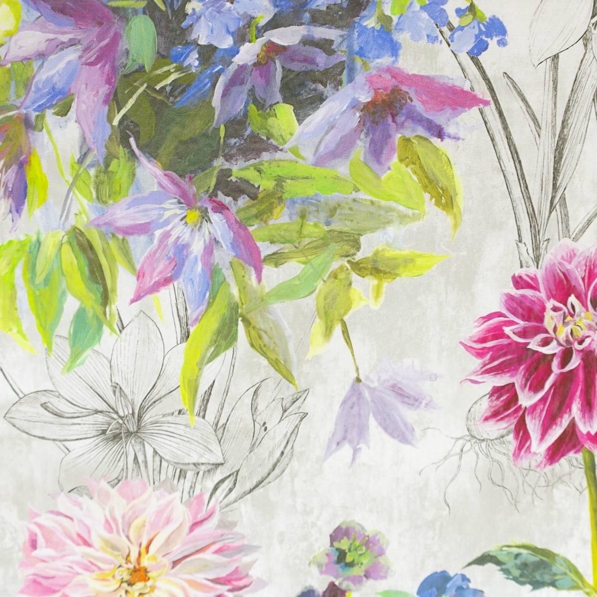 Saunier fabric peony fdg2558 01 designers guild jardin des plantes fabrics collection - Designers guild telas ...
