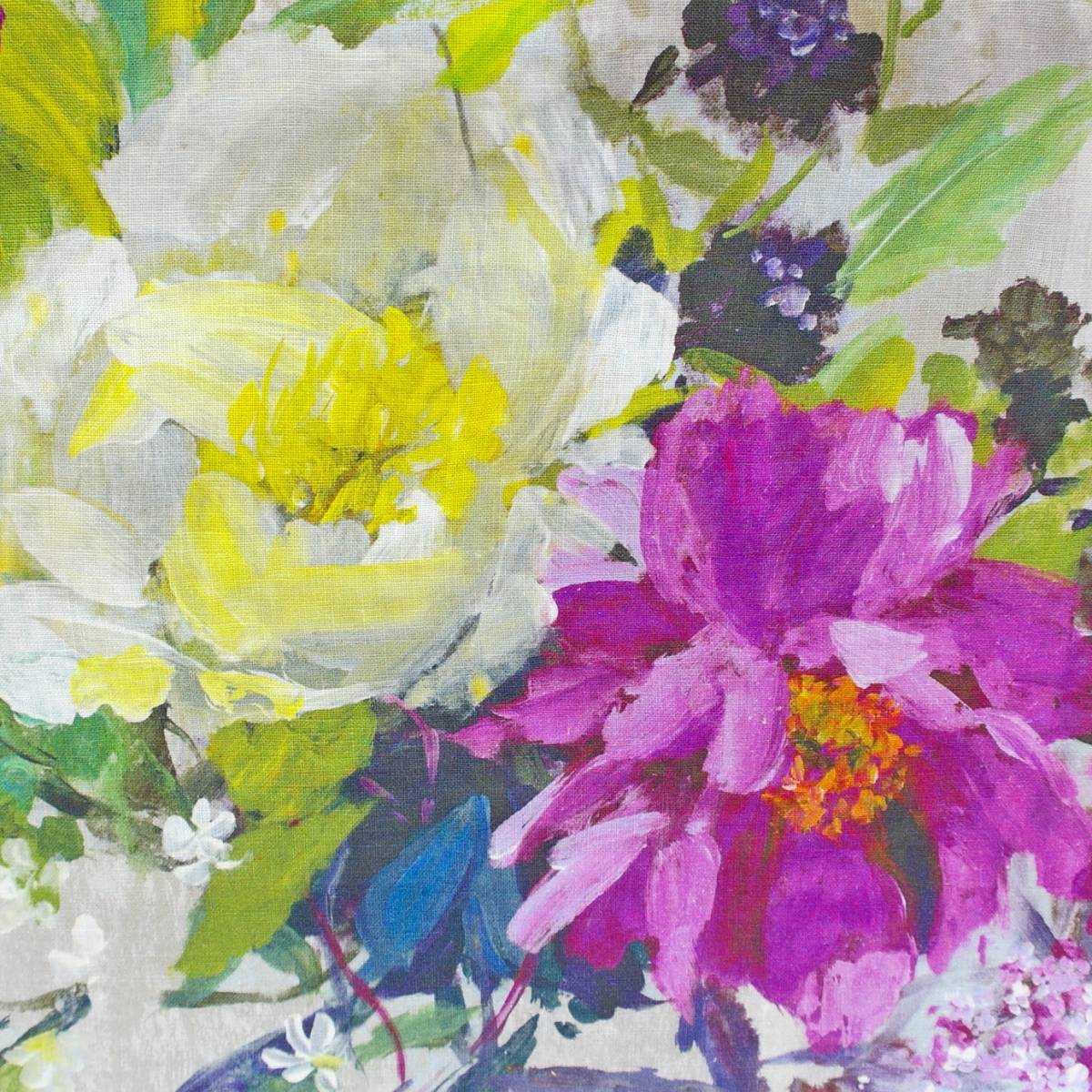 Aubriet fabric amethyst fdg2559 02 designers guild for Jardin 02