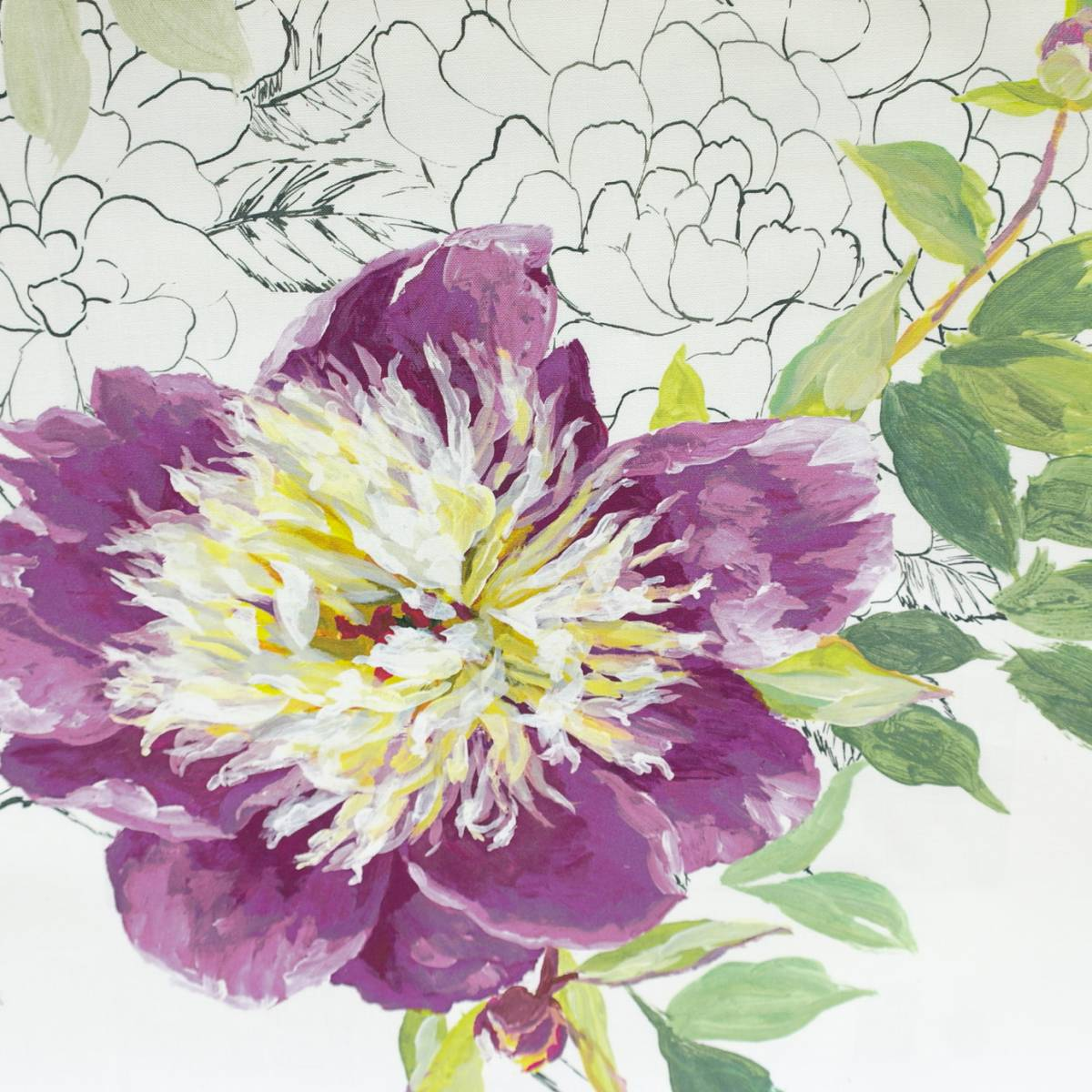 Sibylla fabric amethyst fdg2561 02 designers guild for Jardin 02
