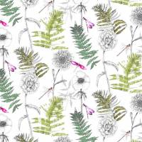 Acanthus Fabric - Moss