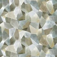 Geo Moderne Fabric - Pewter