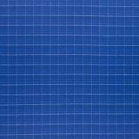 Cheviot Tweed Fabric - Cobalt
