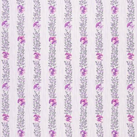 Designers Guild Country Fabrics Pansy Stripe Fabric - Crocus - F1918/02 - Image 1