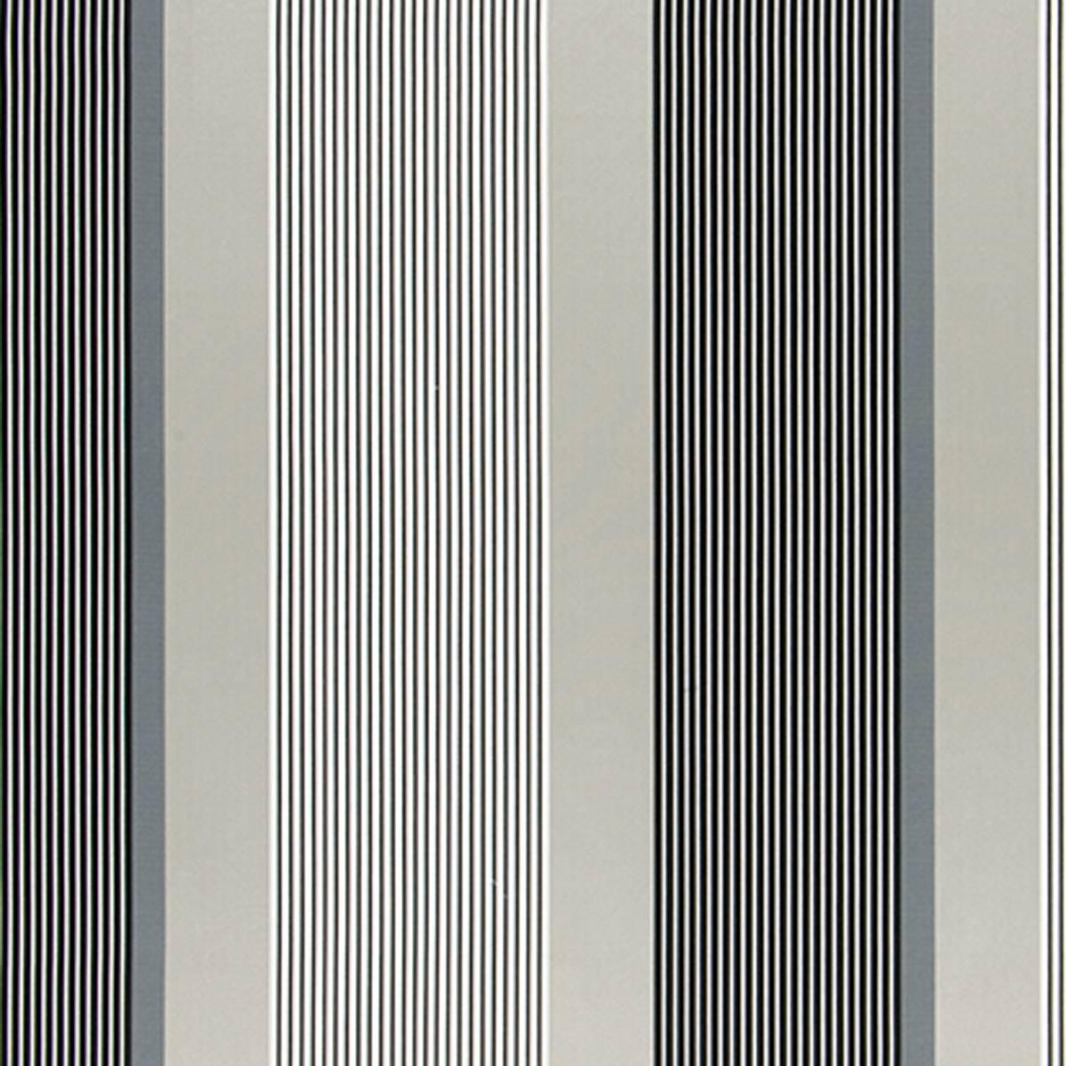 Roman Blinds In Orsoglio Fabric Noir F2047 01