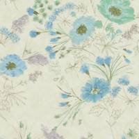 Wild Flower Fabric - Delft