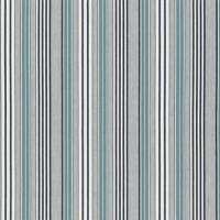 Pinstripe Fabric - Teal
