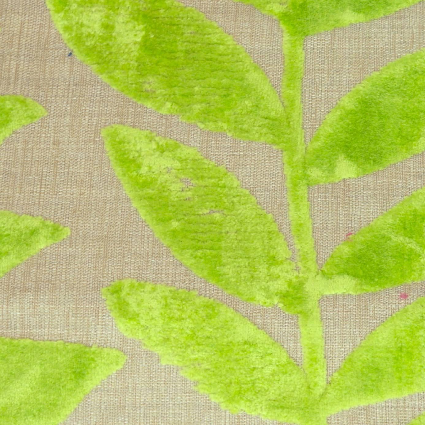 Foglia Fabric Leaf F2106 01 Designers Guild Savio