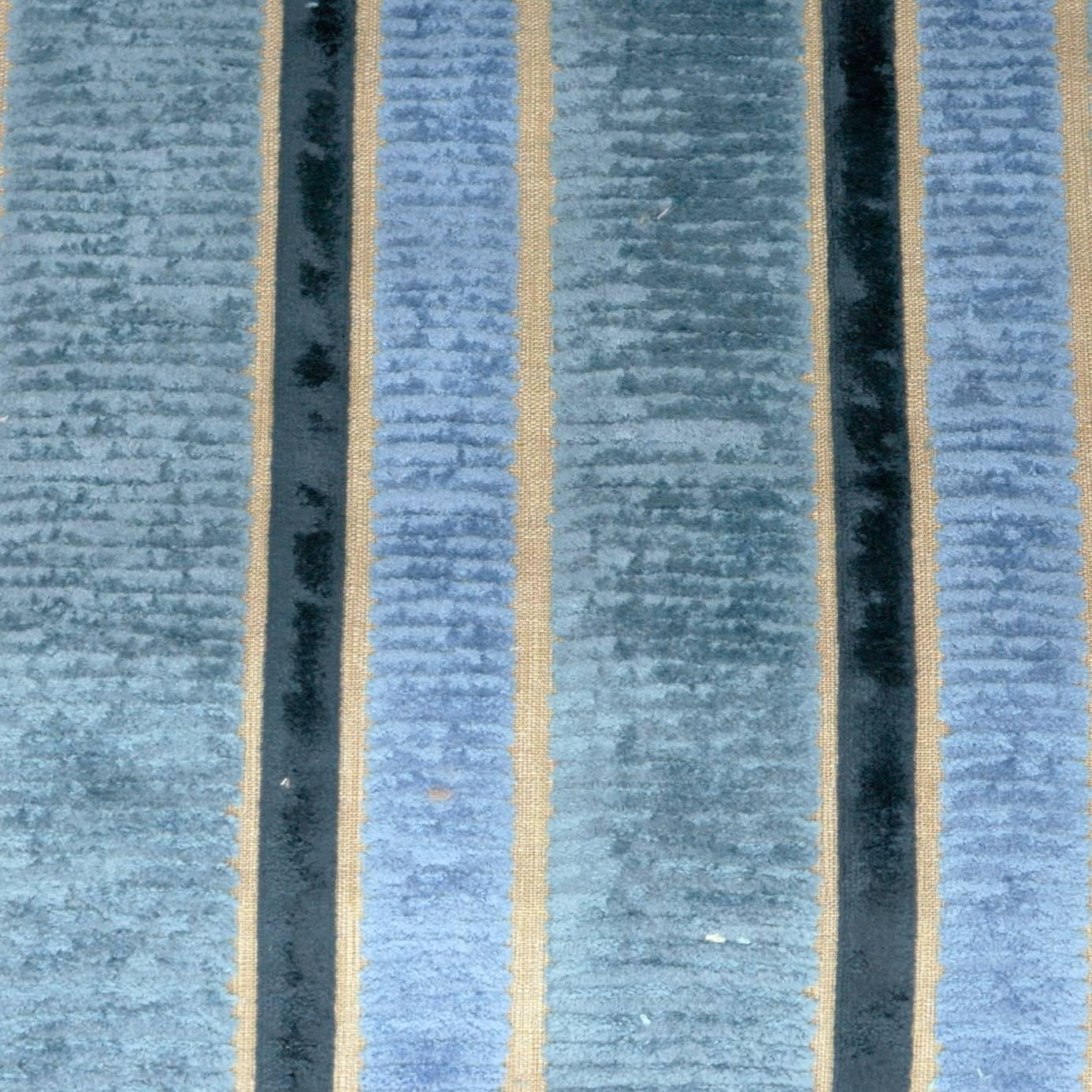 Piomba Fabric Indigo F2107 05 Designers Guild Savio