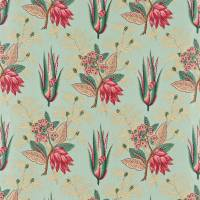 Desert Flower Fabric - Eggshell/Rose