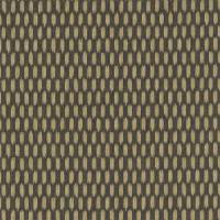 Mazarin Fabric - Charcoal/Old Gold