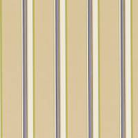 Agate Stripe Fabric - Sapphire/Chartreuse