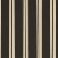 Agate Stripe Fabric - Charcoal/Chalk