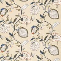 Pomegranate Tree Fabric - Indienne