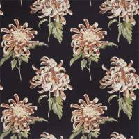 Evelyn Fabric - Koi/Vine Black