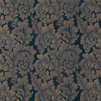 Acantha Fabric - Prussian Blue