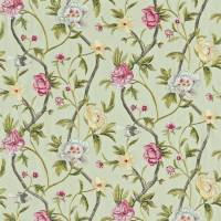 Flowering Tree Fabric - Porcelain