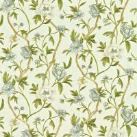 Flowering Tree Fabric - Linen/Silver