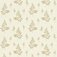 Gingko Fern Fabric - Linen