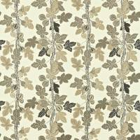 Fig Tree Fabric - Charcoal/Taupe