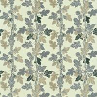 Fig Tree Fabric - Blue/Taupe