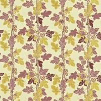 Fig Tree Fabric - Aubergine/Linden