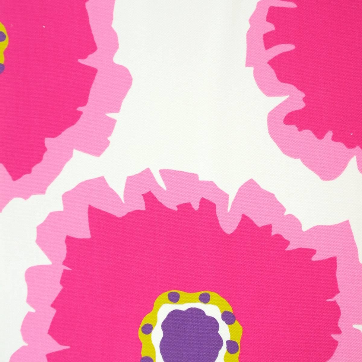 Papavera Fabric Cream Fuchsia 224613 Sanderson Home