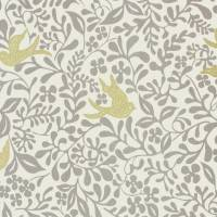 Larksong Fabric - Dove/Honey