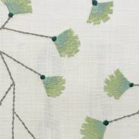 Gingko Trail Fabric - Winter Rocket