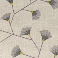 Gingko Trail Fabric - Fig/Olive