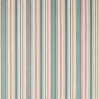 Dobby Stripe Fabric - Brick