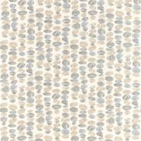 Stacking Pebbles Fabric - Driftwood/Slate