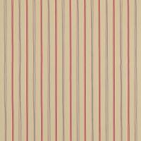 Brecon Fabric - Biscuit/Red