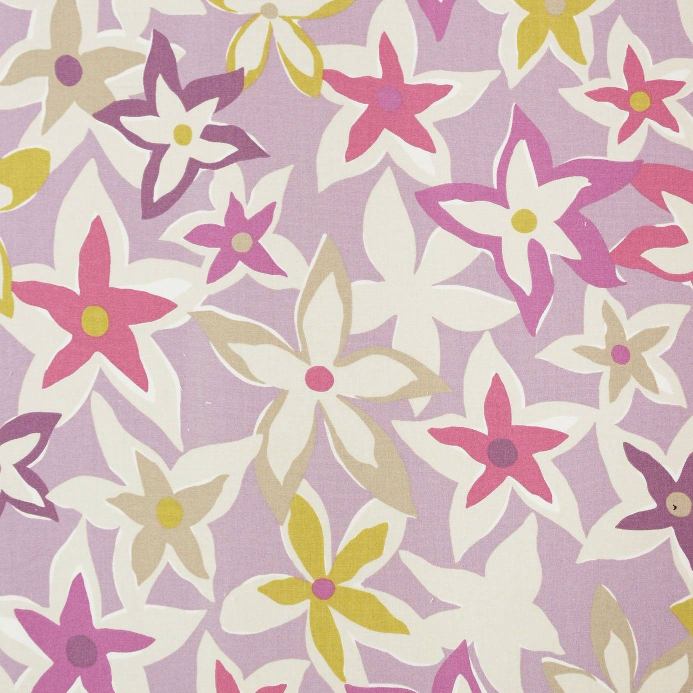 Starflowers fabric berry multi 222714 sanderson home for Wallpaper home fabrics