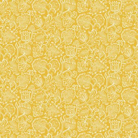 Blendworth Fabrics Celia Birtwell Classics Jacobean Fabric - Mimosa - CBF180