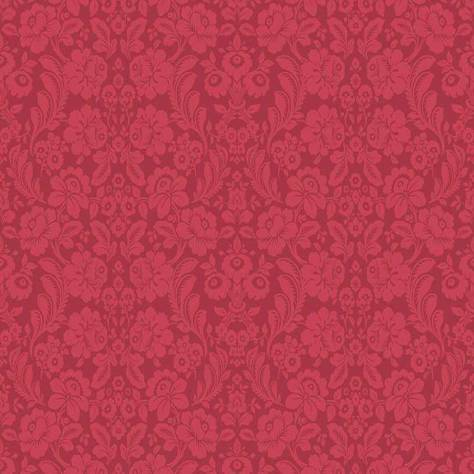 Blendworth Fabrics Nova Foresta Fabrics Villefranche Fabric - Ruby - NF1726A