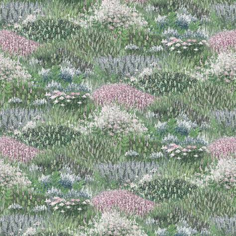 Blendworth Fabrics Antheia Fabrics Heathland Fabric - Whisper - ANTHEA1960