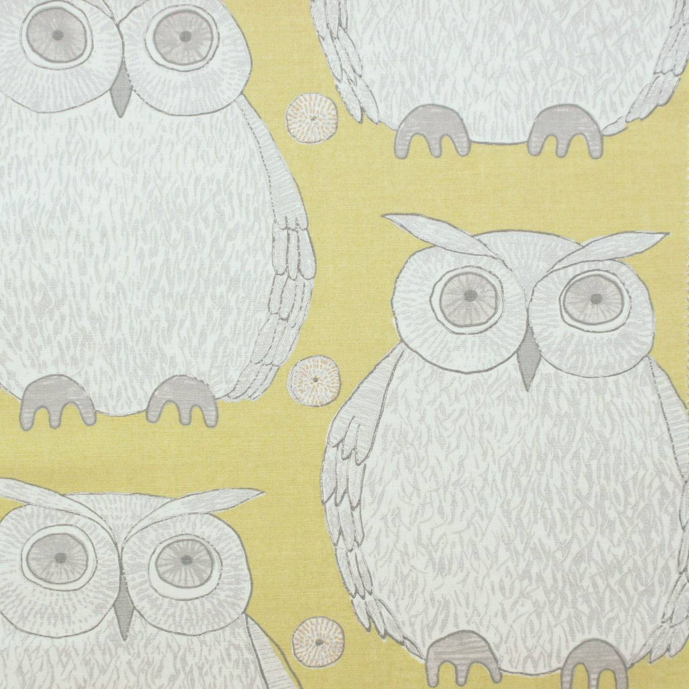 BIRD SONG TAWNY 100/% COTTON CURTAIN BLIND UPHOLSTERY FABRIC.