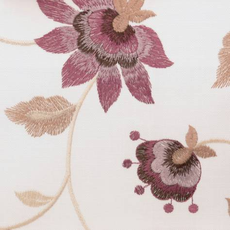 Fibre Naturelle  Botanics Fabrics Wildflower Fabric - Aster - BOWF/03