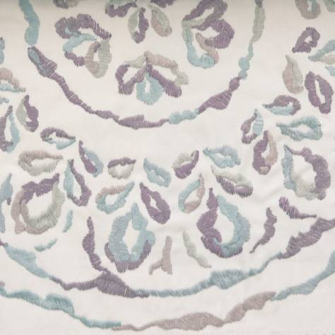 Camengo Tamaris Design Fabrics Moustiers Fabric - Blue - 33710209 - Image 1
