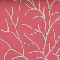 Rousset Fabric - Coral