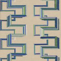 Memphis Fabric - Blue